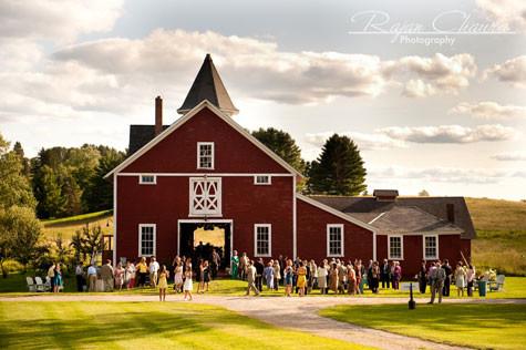 Rustic Vermont Barn Wedding Location - Rustic Wedding Chic