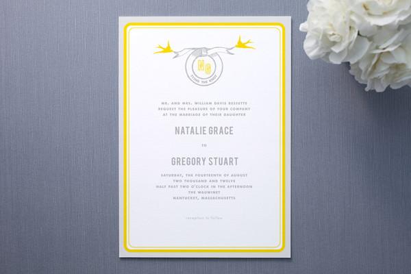Overnight Wedding Invitations: DIY Vintage Inspired Wedding Invitations