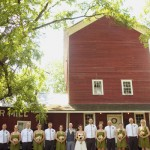 Farm Wedding Party