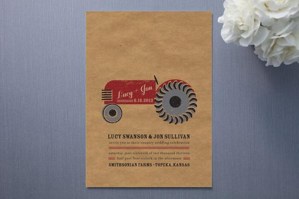 farm wedding invitations rustic wedding chic