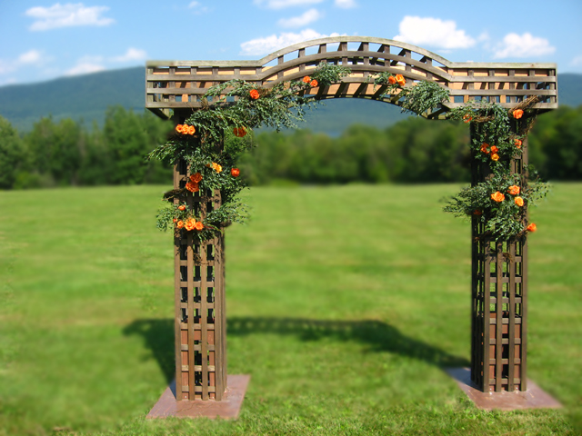 Country Garden Wedding Arbors Rustic Wedding Chic