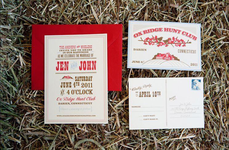 Backyard Bbq Wedding Invitations: Real Rustic Wedding: Elegant BBQ-Darien, CT Part I