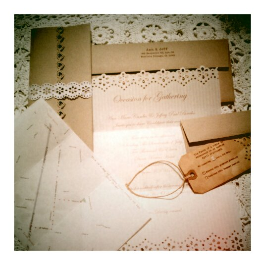 DIY Vintage Inspired Wedding InvitationsDiy Rustic Wedding Invitations
