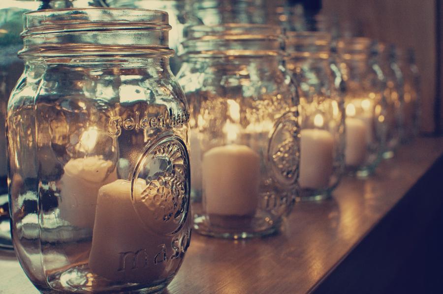 Wedding Ideas Using Mason Jars: Five Ways To Use Mason Jars At Your Wedding
