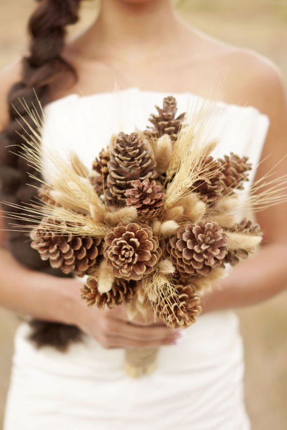 Wheat Centerpiece Ideas For A Country Wedding Rustic