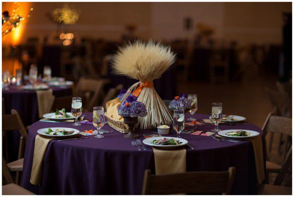 Wheat centerpiece ideas for a country wedding rustic for Wheat centerpieces