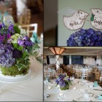 Birch wedding decor