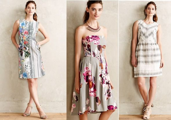 Pattern Bridesmaid Dresses Rustic Wedding Chic