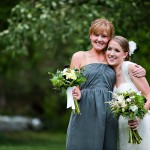 Rustic Wedding Wedding With Gray Bridesmaid Dresses