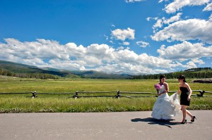 Rustic Wedding At Devil's Thumb Ranch In Colorado