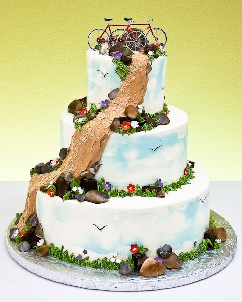 have a rustic or country wedding send me pics of your wedding cake