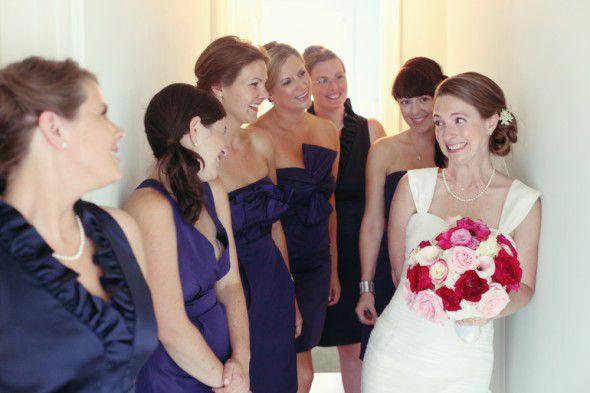 Purple bridemaids dresses