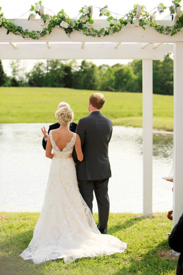 A vintage rustic style real wedding rustic wedding chic for Nashville wedding dress shops
