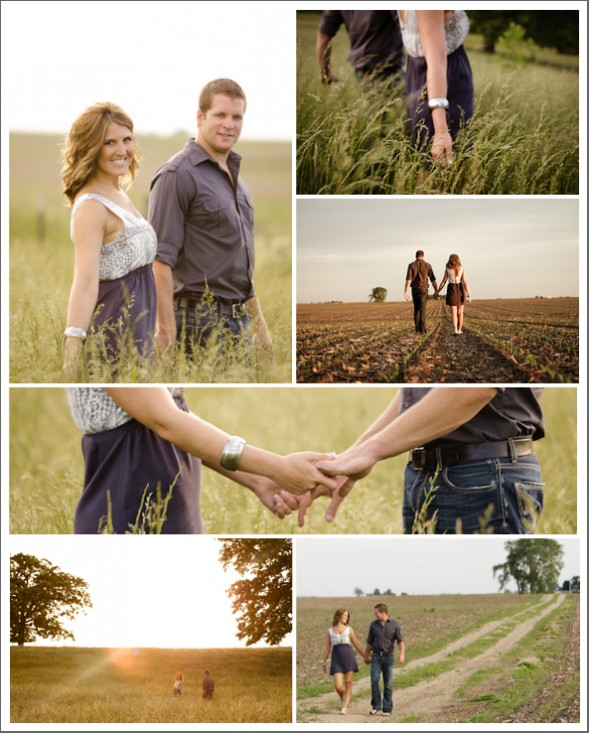 A Sweet Farm Engagement Session Rustic Wedding Chic
