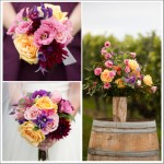 Fall Rustic Wedding Flowers From A Vineyard Wedding In NY