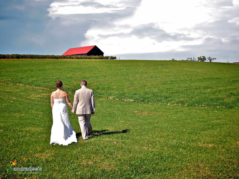 Country Wedding At Talon Winery Lexington Ky Rustic