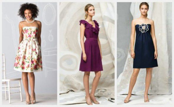 Chic And Simple Wedding Dresses By Cabotine: Country Chic Bridesmaid Gowns By The Dessy Group