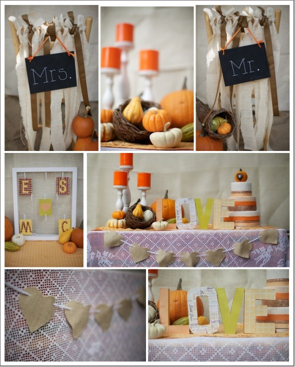 Rustic Fall Wedding Ideas: Rustic Fall Wedding Inspiration