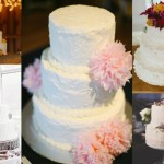 Rustic White Wedding Cakes