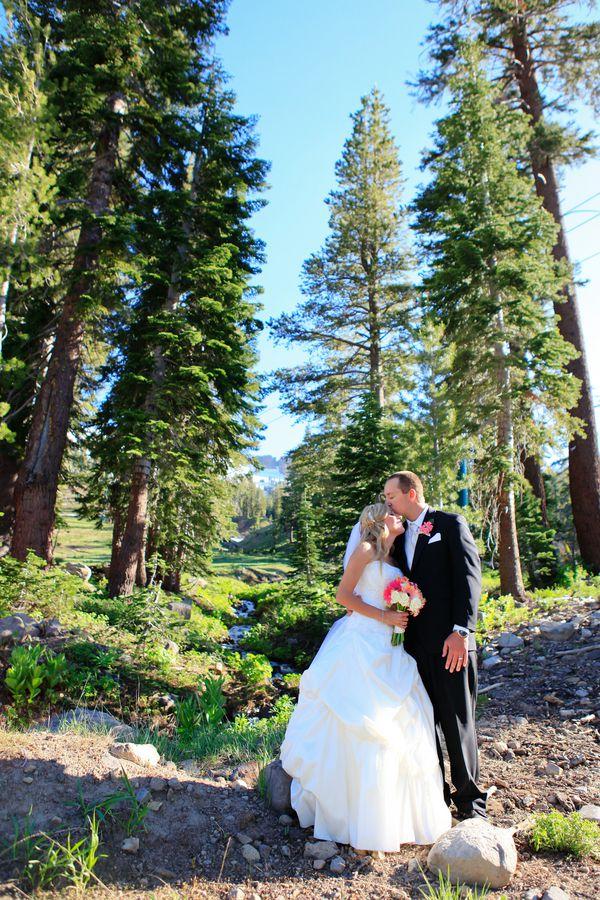 Ca Mountain Rustic Wedding At Kirkwood Mountain Rustic