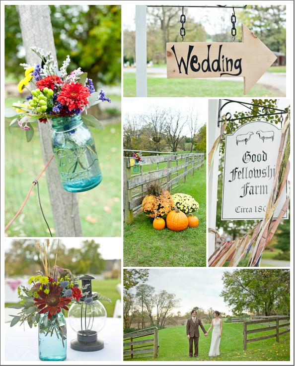 Country Farm Barn Style Wedding