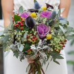 Rustic Country Farm Style Wedding Flowers