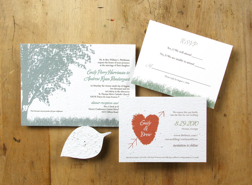 Eco Friendly Wedding Invitations was very inspiring ideas you may choose for invitation ideas