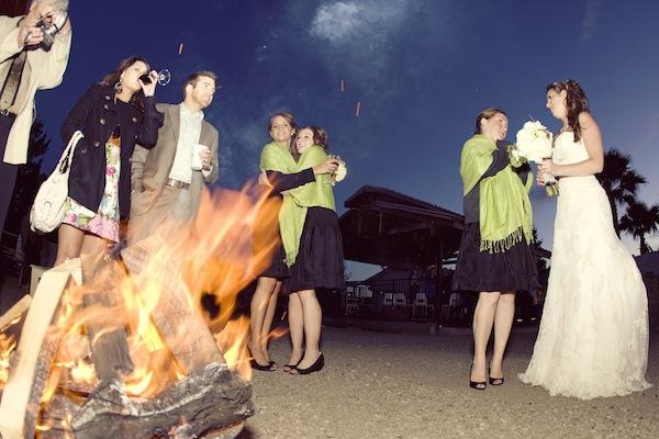 Backyard Bonfire Wedding : Backyard Style Rustic Wedding From Napa Valley  Rustic Wedding Chic