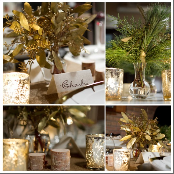 Holiday themed wedding inspiration rustic wedding chic for Country chic christmas