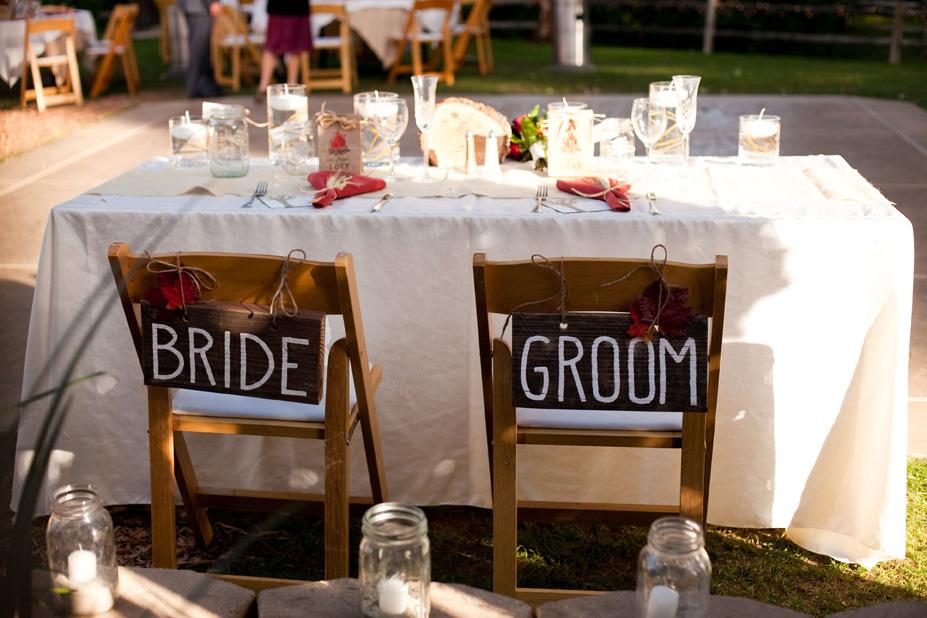 In part one of this wedding we saw a beautiful outdoor ceremony space and