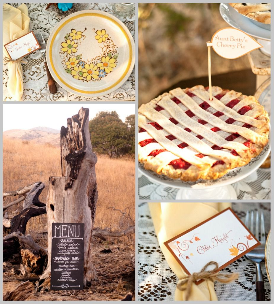 Fall Vintage Wedding Ideas: Vintage Style Wedding Ideas & Inspiration