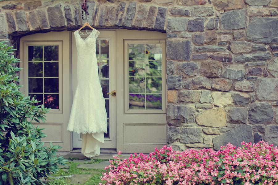 Wedding Gown At Skytop Lodge