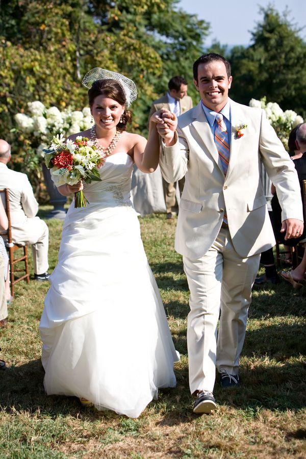 Vintage Style VA wedding