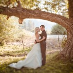 Idaho Rustic Wedding Couple