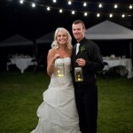 Rustic County Wedding With Mason Jars