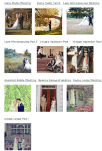 Weekly Rustic Wedding Recap for Jan 7 2012