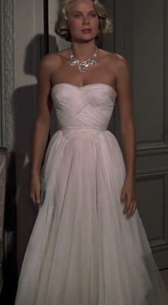 5789a19e90292 Grace Kelly White Dress From To Catch A Thief - Rustic Wedding Chic