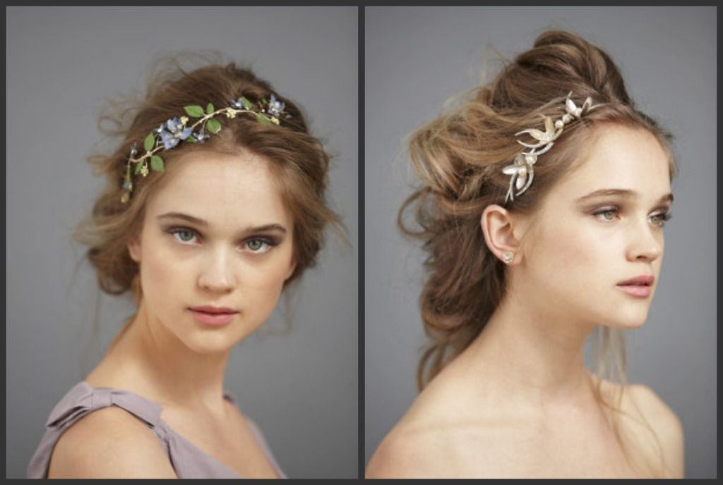 Rustic Wedding Hair Accessories