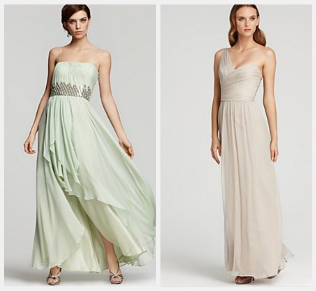Long bridesmaid dresses for a rustic or country wedding for Dresses for a country wedding