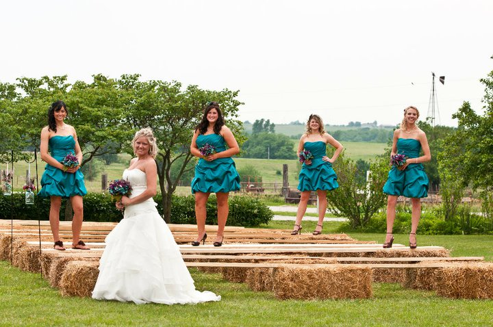 Kansas Outdoor Rustic Wedding