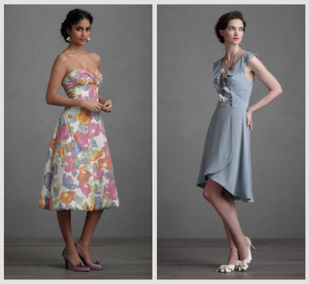 BHLDN Bridesmaid Gowns