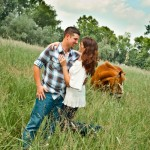 Horse Farm Engagement Session