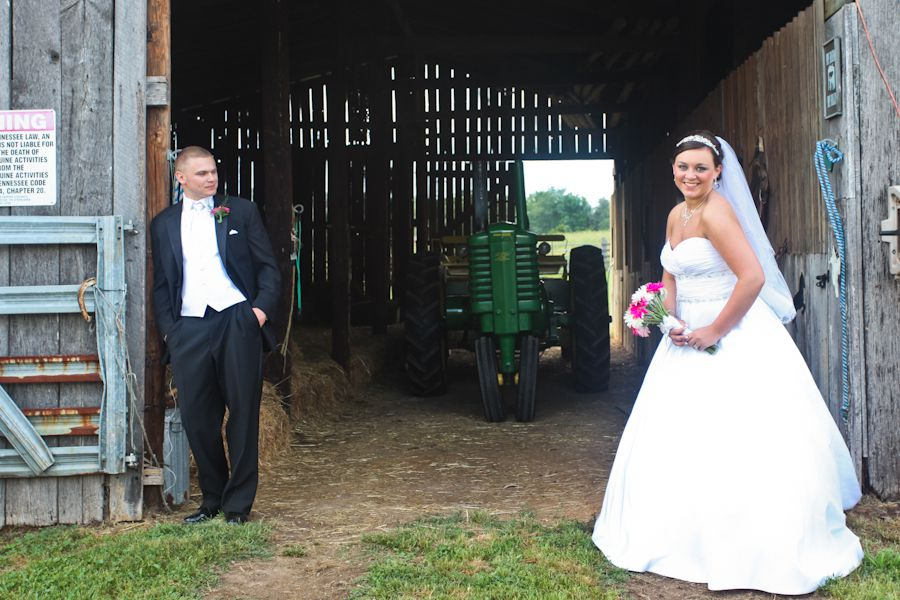Knoxville Tennessee Farm Wedding Rustic Wedding Chic