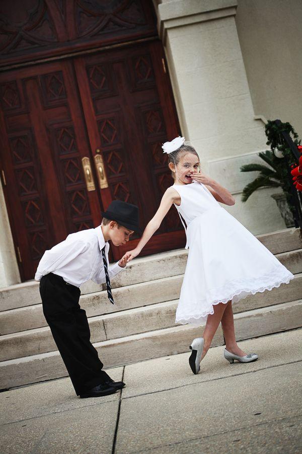 Flower Girl & Ring Bearer Inspiration Shoot - Rustic ...