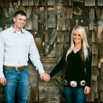 Rustic Wedding Engagement Session