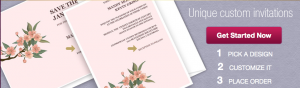 Customizable wedding invitations