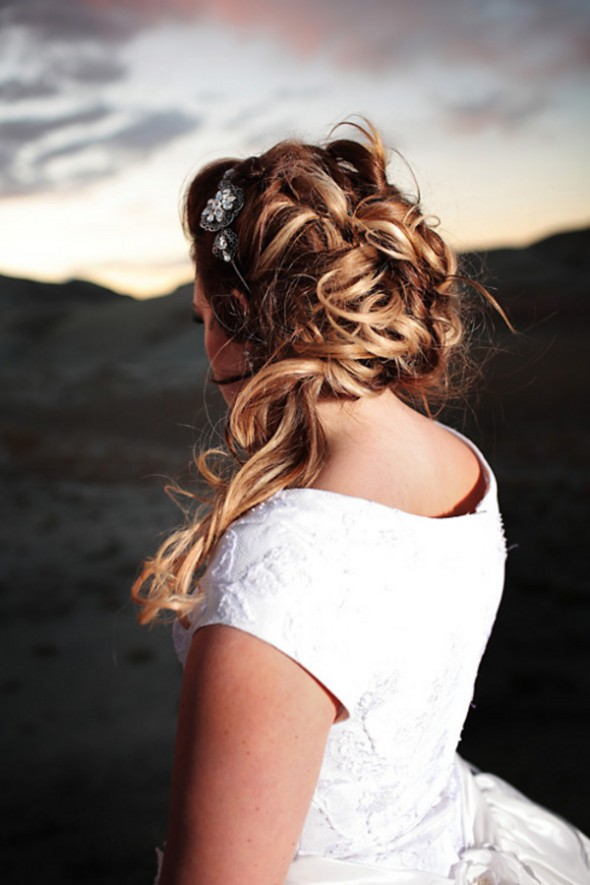 s curl hairstyle : Rustic Wedding Hairstyles