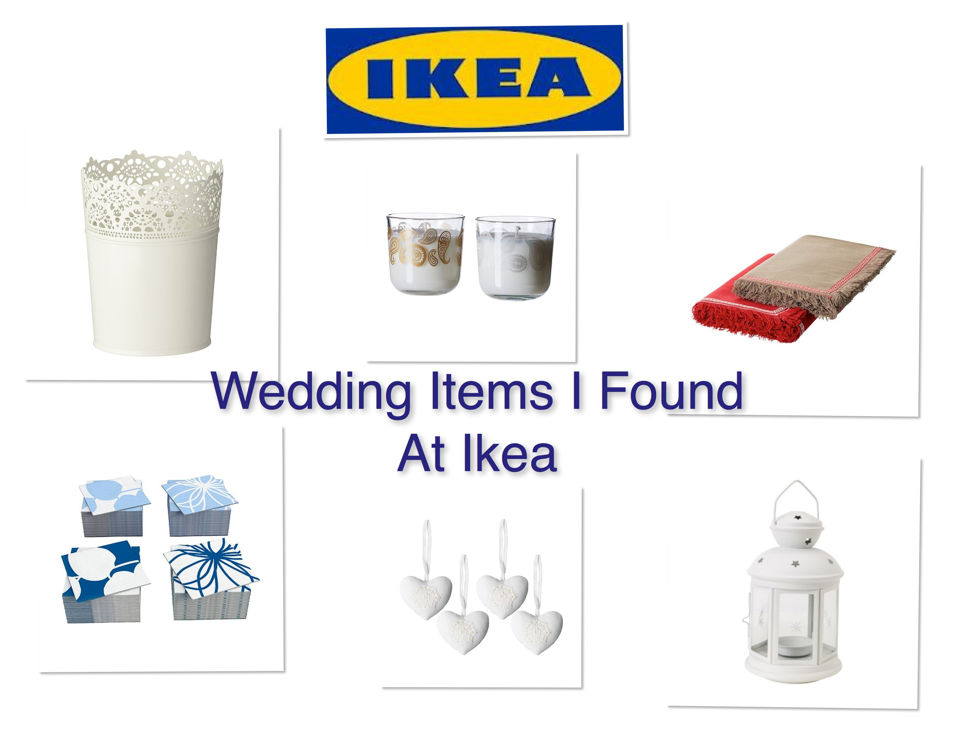 wedding items that can be found at ikea rustic wedding chic