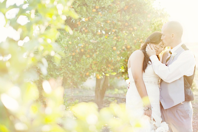 Vintage CA Country Style Wedding