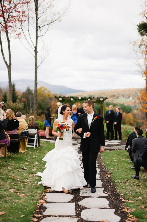 Outdoor Wedding In New Hampshire